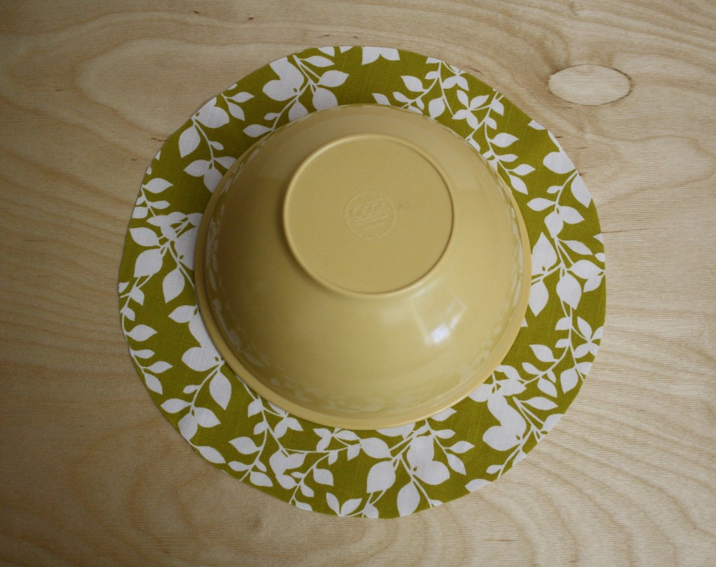 bowl cover pattern