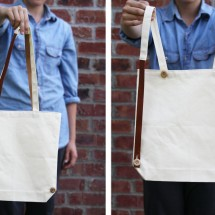 interchanging tote/ backpack