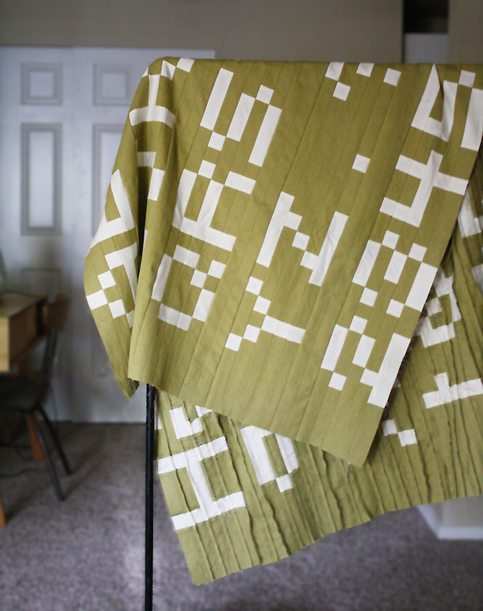 alphabet quilt >> yellow spool