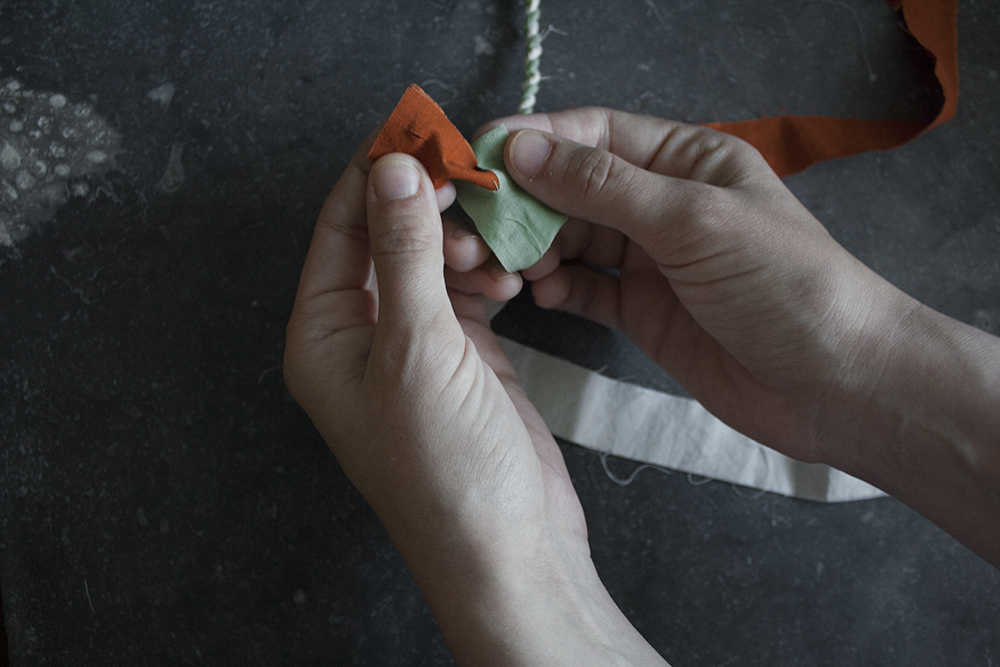 rope making - step 4