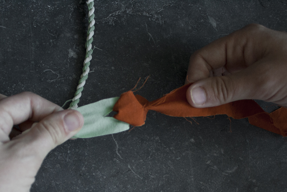 rope making - step 6