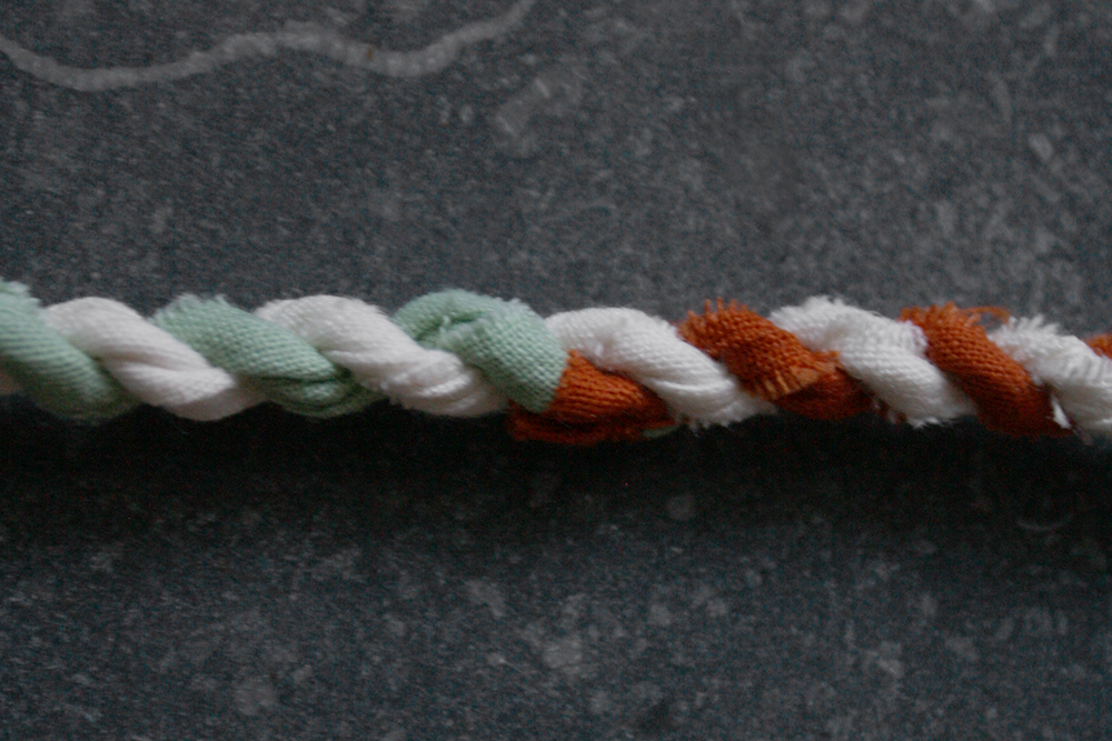 rope making - color connection