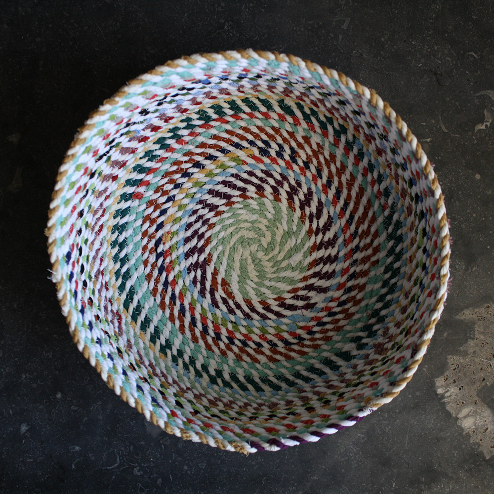 rope basket tutorial